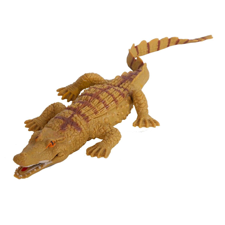 Купить Игрушка-тянучка Крокодил КОМПАНИЯ ДРУЗЕЙ серия Животные планеты Земля JB0206605, Компания друзей,