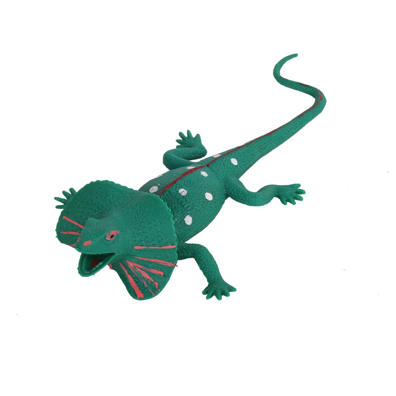 Купить Игрушка-тянучка Плащеносная ящерица КОМПАНИЯ ДРУЗЕЙ Животные планеты Земля JB0206620, Компания друзей,