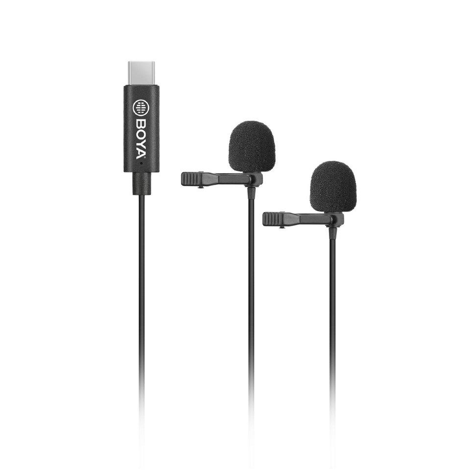 Петличный микрофон Boya BY-M3D (USB Type-C)