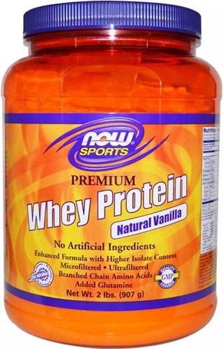 Now Whey Protein 2,72 кг (вкус: ваниль) hey Protein по цене 6 460