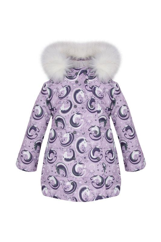 Купить 15.129GFW20G_1703UZ, Пальто детское Zukka, цв. фиолетовый, р-р 86,