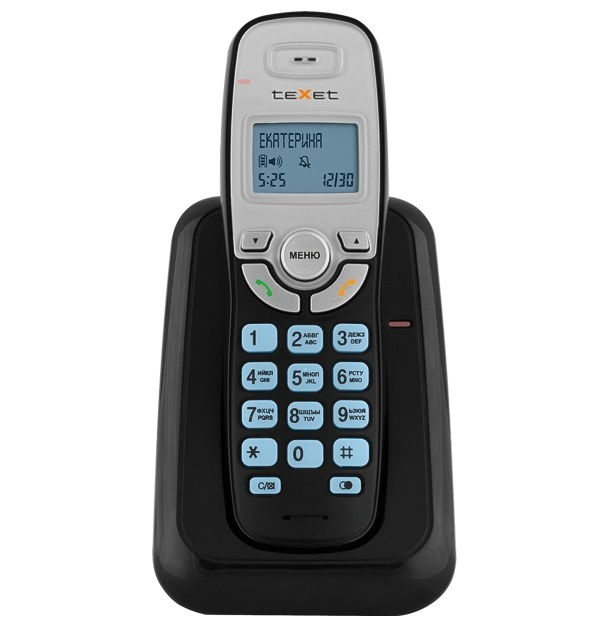 Радиотелефон teXet TX D6905A Black