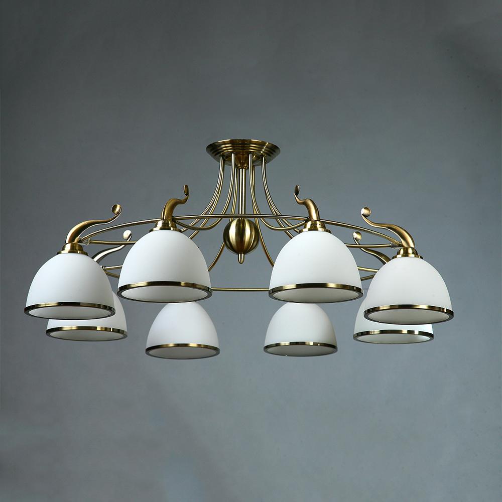 Люстра потолочная BRIZZI MA 02401CB/008 Bronze