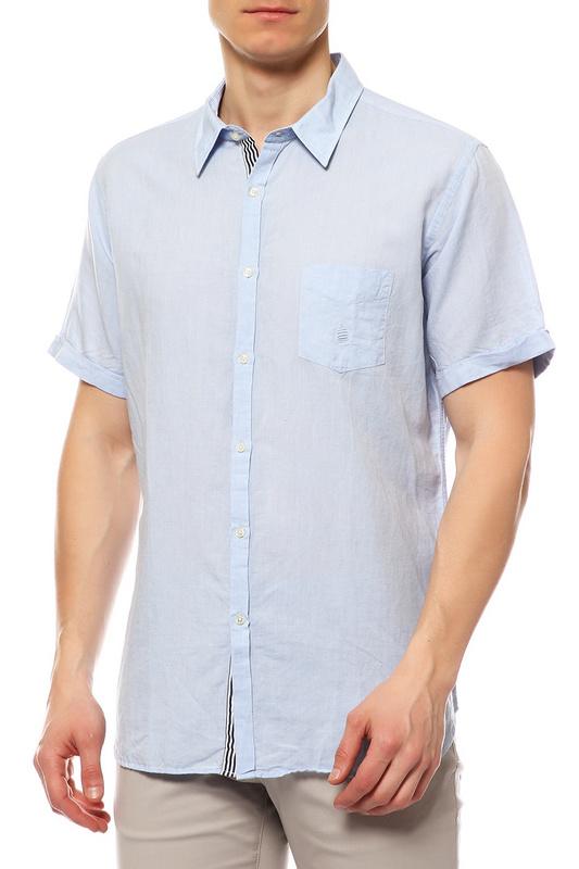 Рубашка мужская MARINA YACHTING 410275321320 голубая 44 IT
