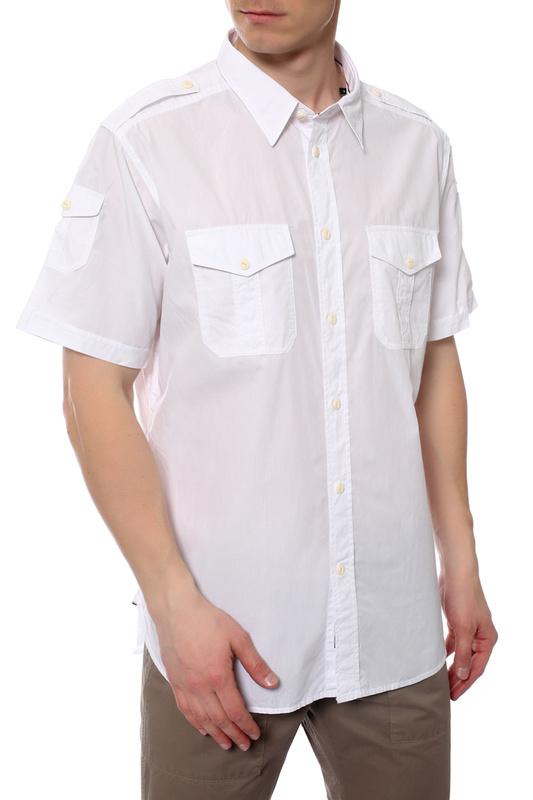 Рубашка мужская MARINA YACHTING 31275320750 белая 40 IT