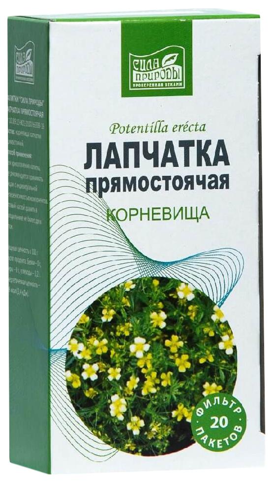 Купить Лапчатка прямостоячая корень пакеты 20 шт. Напитки Сила природы