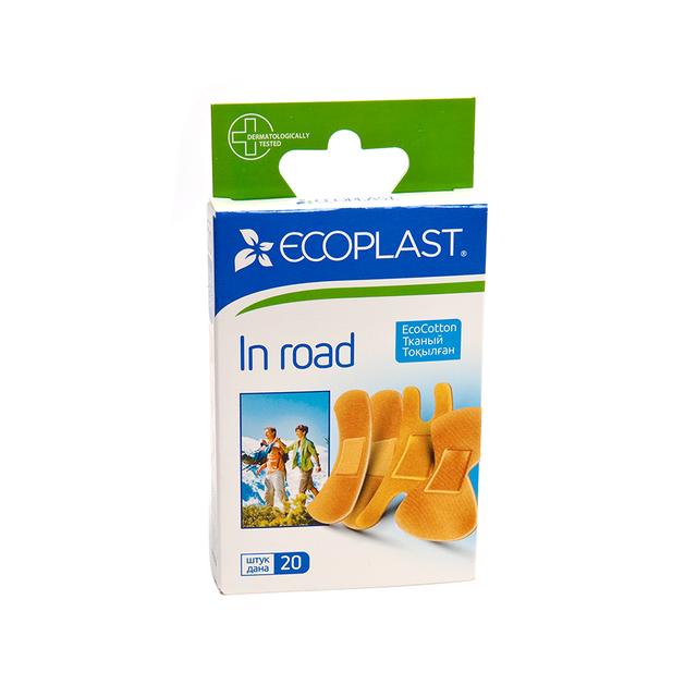 Купить Набор пластырей медицинских In road 20 шт., Ecoplast