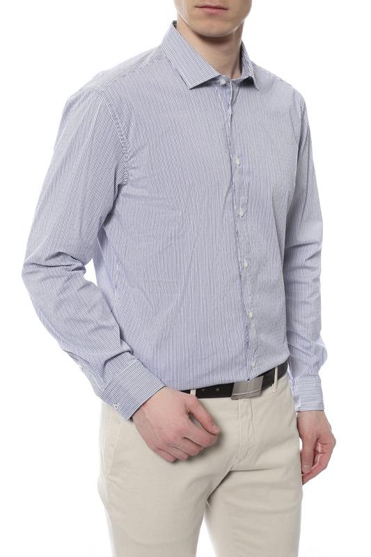 Рубашка мужская JOOP 170744 синяя 37 DE