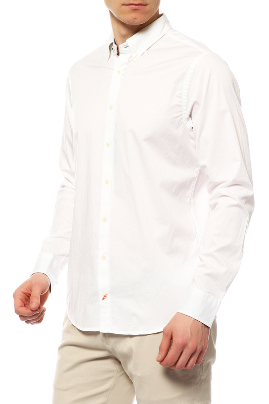 Рубашка мужская TOMMY HILFIGER .0887828352 100 белая L