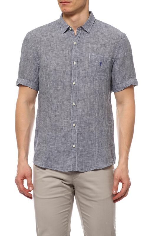 Рубашка мужская TRU TRUSSARDI 524243 синяя S