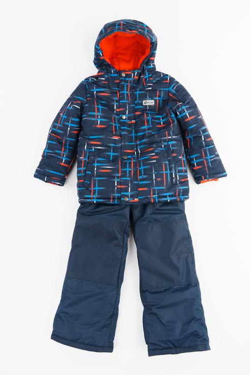 Купить SWB5859, Комплект куртка и комбинезон SALVE by Gusti для мальчиков цв. оранжевый р-р. 134,