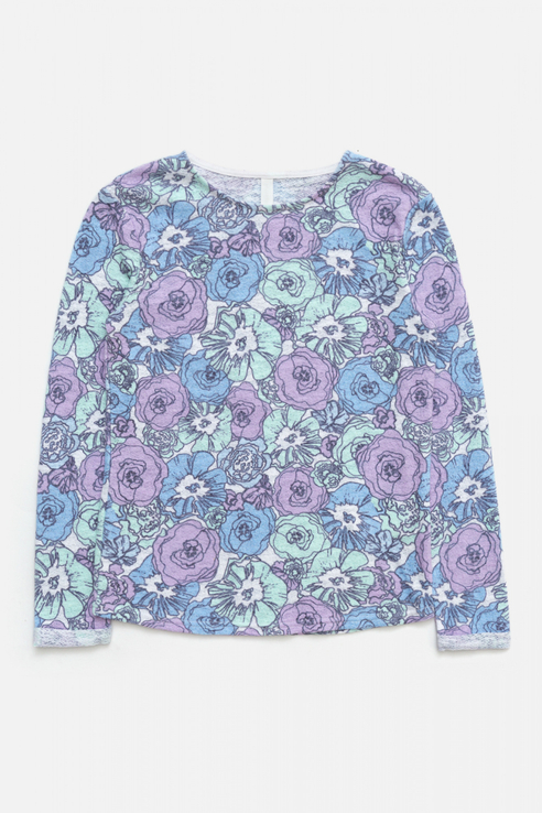 Купить 10210170011, Лонгслив Concept Club для девочек цв. разноцветный р-р. 140,