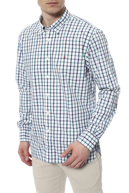 Рубашка мужская TOMMY HILFIGER .0887820092 327 белая L