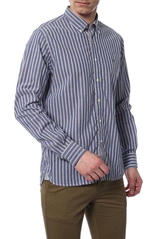 Рубашка мужская TOMMY HILFIGER .0887820201 622 голубая M