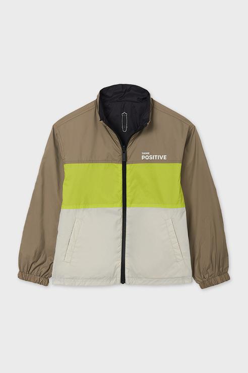 Купить Двусторонняя куртка-ветровка Nukutavake by Mayoral 6489/21 Серый 152,