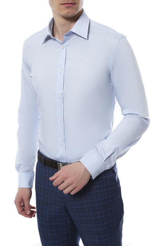 Рубашка мужская JOOP 292100 голубая 39 DE