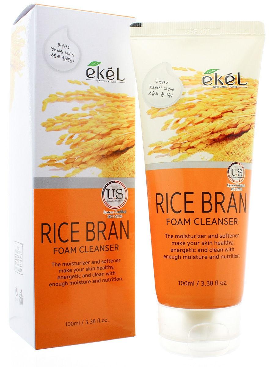Купить Пенка для умывания EKEL с рисовыми отрубями Ekel Foam Cleanser Rice Bran 100 мл