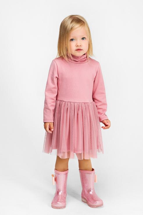 Платье Bossa Nova для девочек цв. розовый