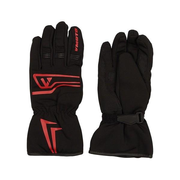 Мотоперчатки Vmoto 1251 Black/Red, L