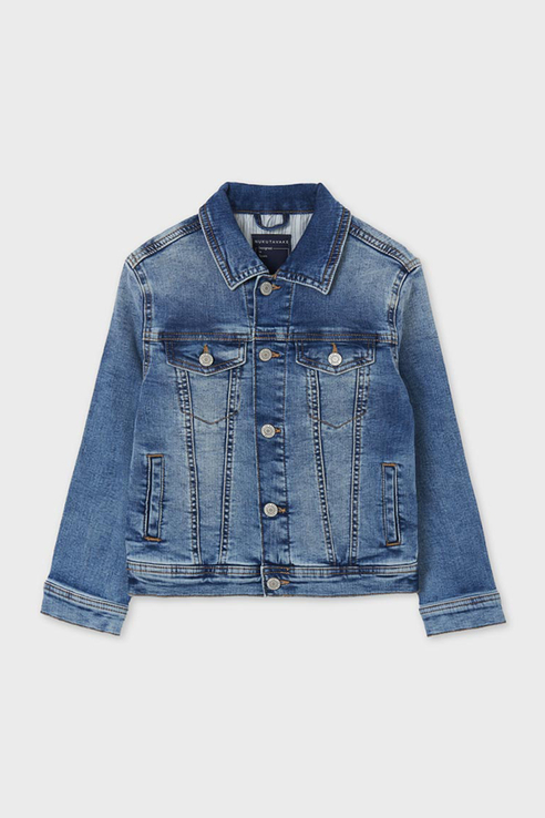 Купить Джинсовая куртка Nukutavake by Mayoral 6481/21 Голубой 152,