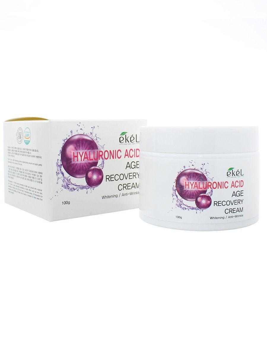 Купить Крем для лица Ekel с гиалуроновой кислотой Age Recovery Cream Hyaluronic Acid 100 гр