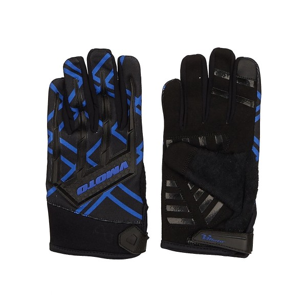 Мотоперчатки Vmoto 1261 Black/Blue, XL