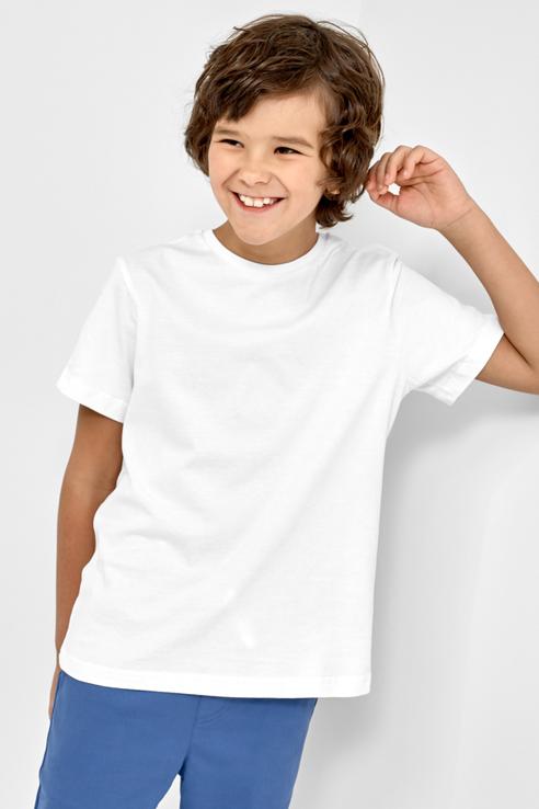 Базовая футболка, 2 шт. Mark Formelle 21-10750Б-0 цв. белый р. 116