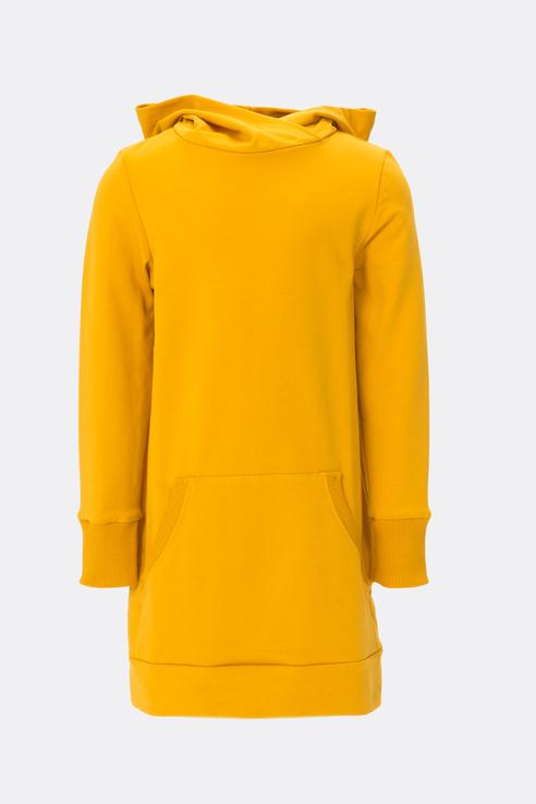 Купить El_K90005, Платье-толстовка ELARDIS для девочек цв. желтый р-р. 104,