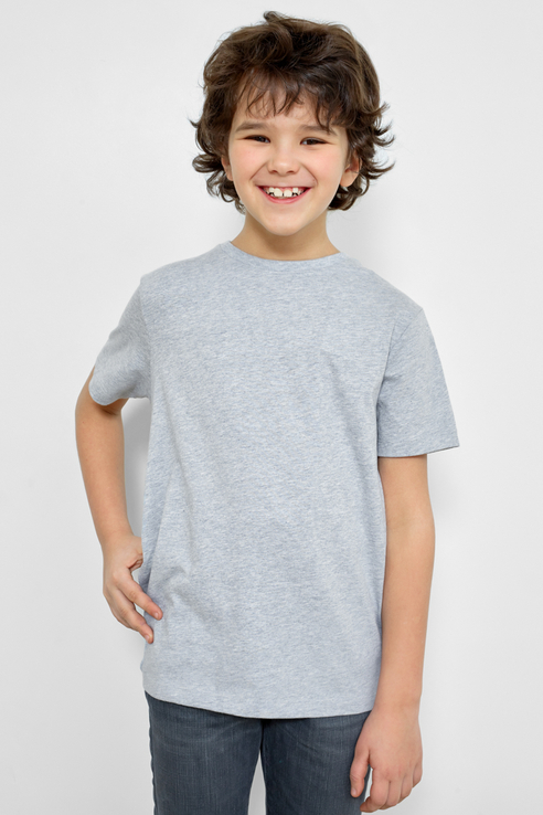 Базовая футболка, 2 шт. Mark Formelle 21-13084П-0 цв. голубой р. 110