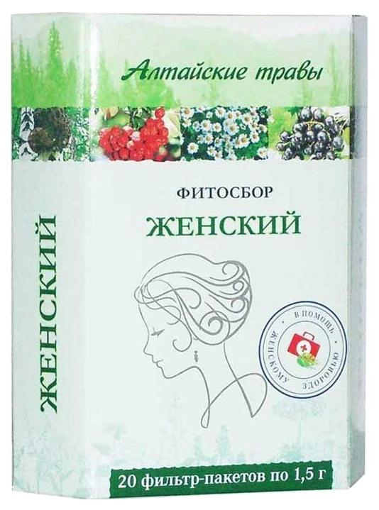 Фитосбор Алтайские травы Женский 20 шт.