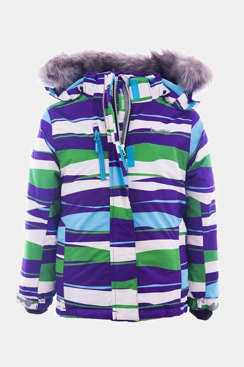 Купить 902175, Куртка KUOMA для девочек цв. зеленый р-р. 128,