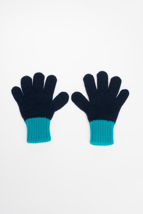 Купить К 134/ш/светлая лагуна, темно-синий, Перчатки Crockid для мальчиков цв. синий р-р. 13,