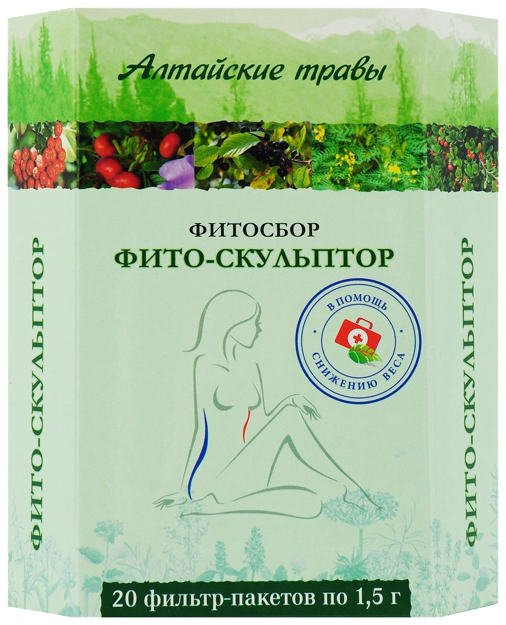 Фитосбор Алтайские травы Фито скульптор 20 шт.