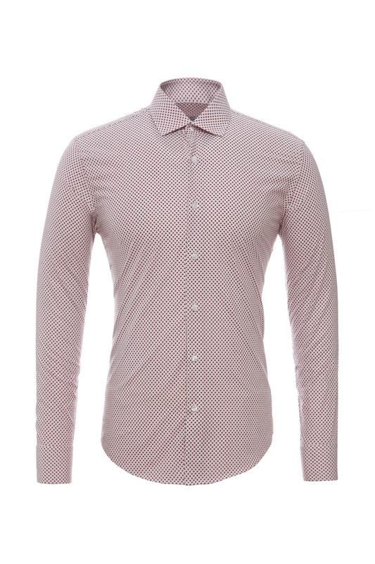 Рубашка мужская BAWER RZ2112084-04 красная 4XL