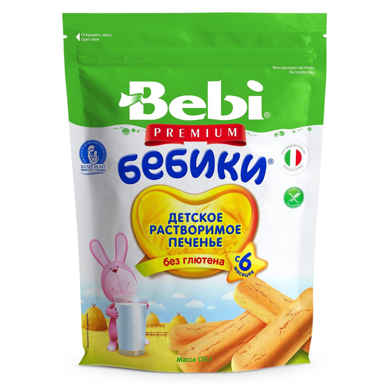 Печенье Bebi Premium Бебики без глютена