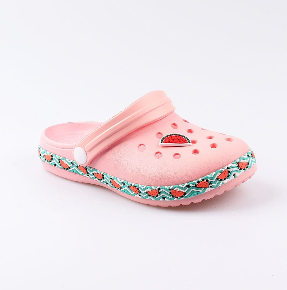 Пляжная обувь для девочек Котофей 525060-01 коралловый р.34-35