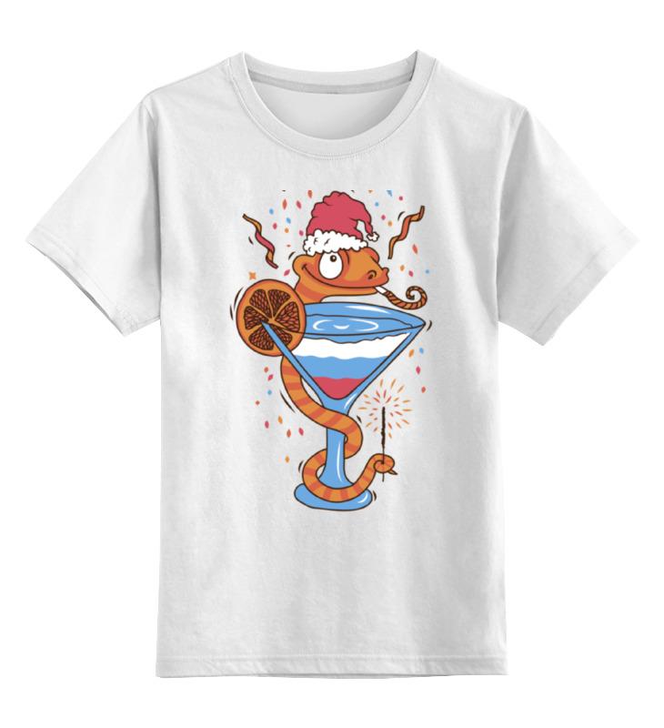0000000674960, Детская футболка классическая Printio New year!, р. 164,  - купить со скидкой