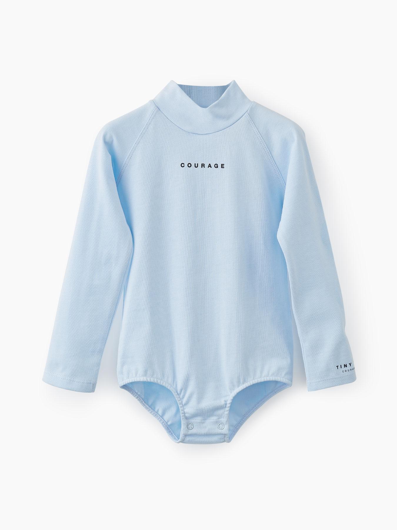 Купить 88087, Боди из хлопкового трикотажа (light blue, 86) Happy Baby голубой 86,