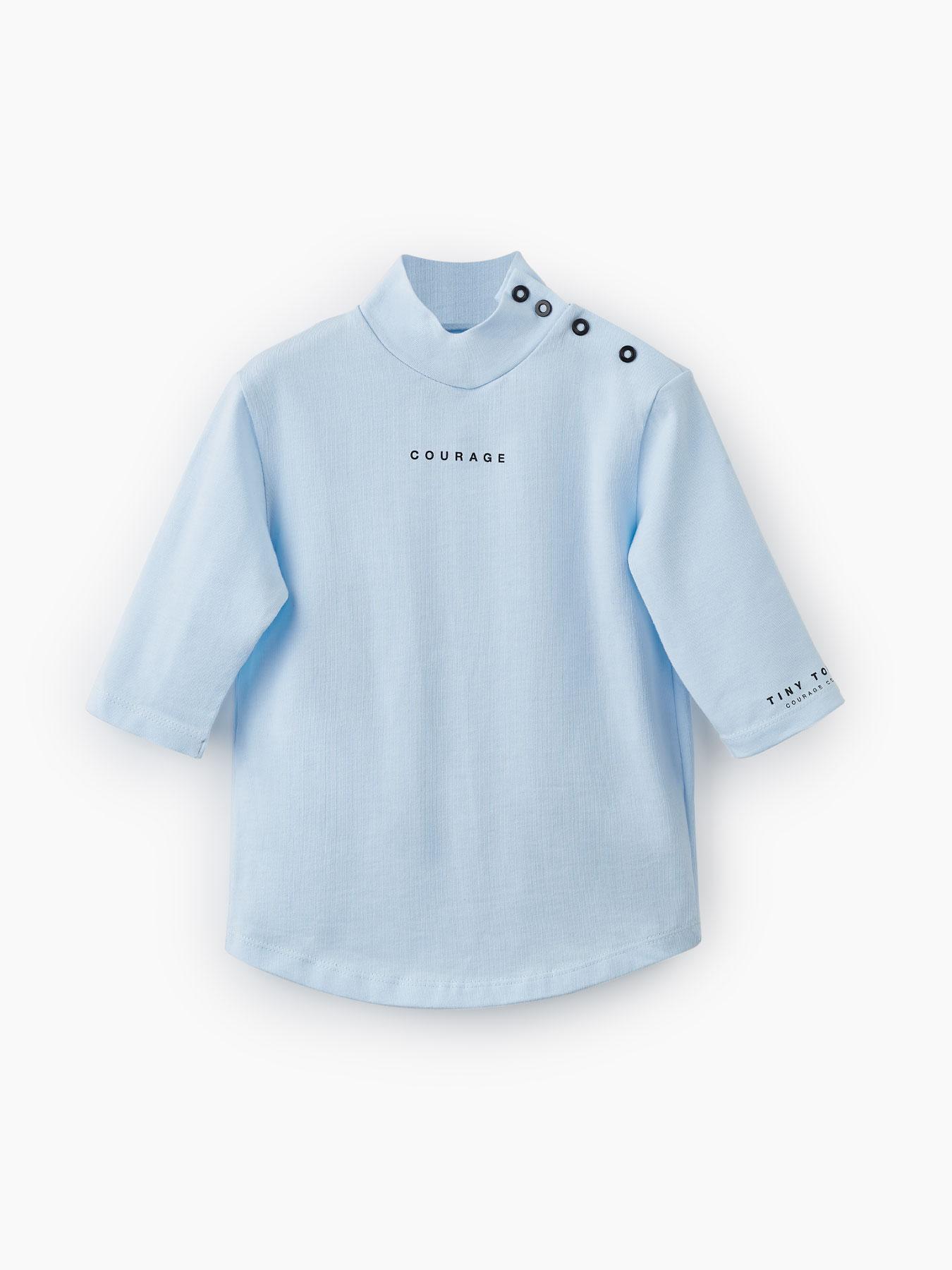 Купить 88088, Водолазка из хлопкового трикотажа (light blue, 86) Happy Baby голубой 86,
