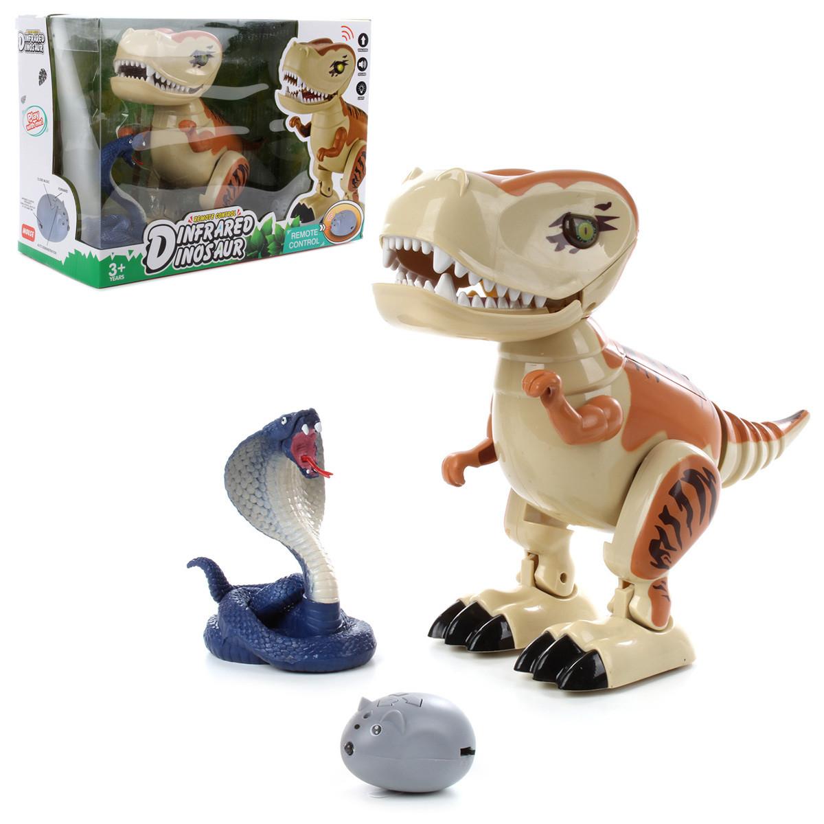 Игрушка на радиоуправлении Veld Хищный динозавр