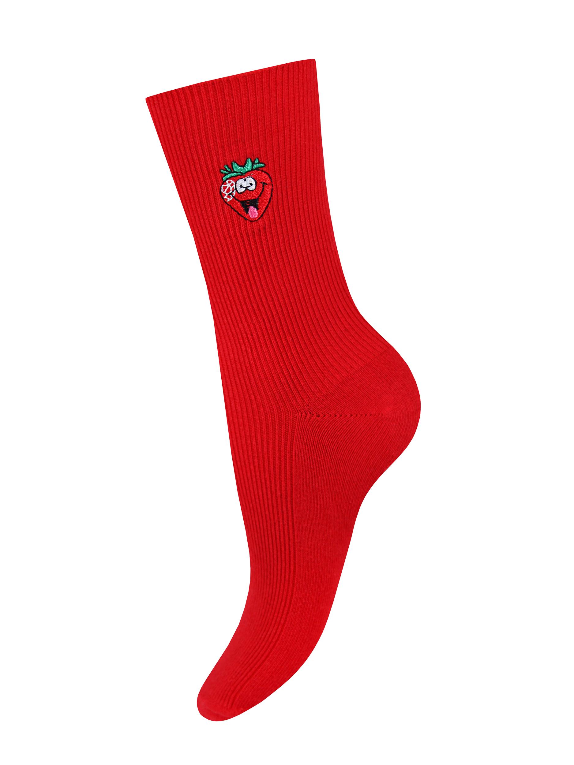 Носки женские Mademoiselle SC-1892-5 красные Unica