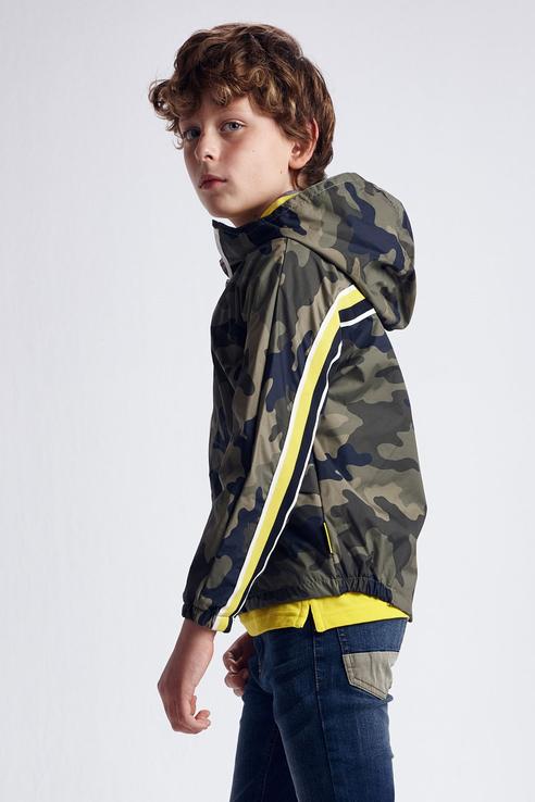 Купить Куртка-ветровка с капюшоном Nukutavake by Mayoral 6491/21 Хаки 152,
