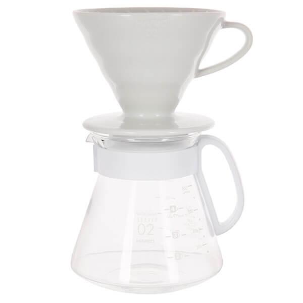 Чайник + воронка керамическая HARIO XVDD 3012W