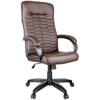 Кресло руководителя Helmi HL E80 Ornament, экокожа