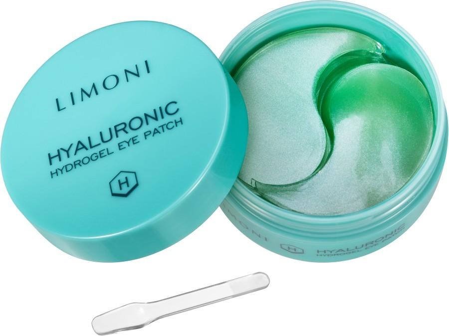 Купить Патчи для глаз Limoni гидрогелевые увлажняющие с гиалуроном, Патчи для глаз гидрогелевые увлажняющие с гиалуроном Limoni Hyaluronic Hydrogel Eye Patches