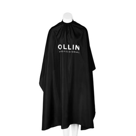 Пеньюар для стрижки OLLIN черный 145х160 см