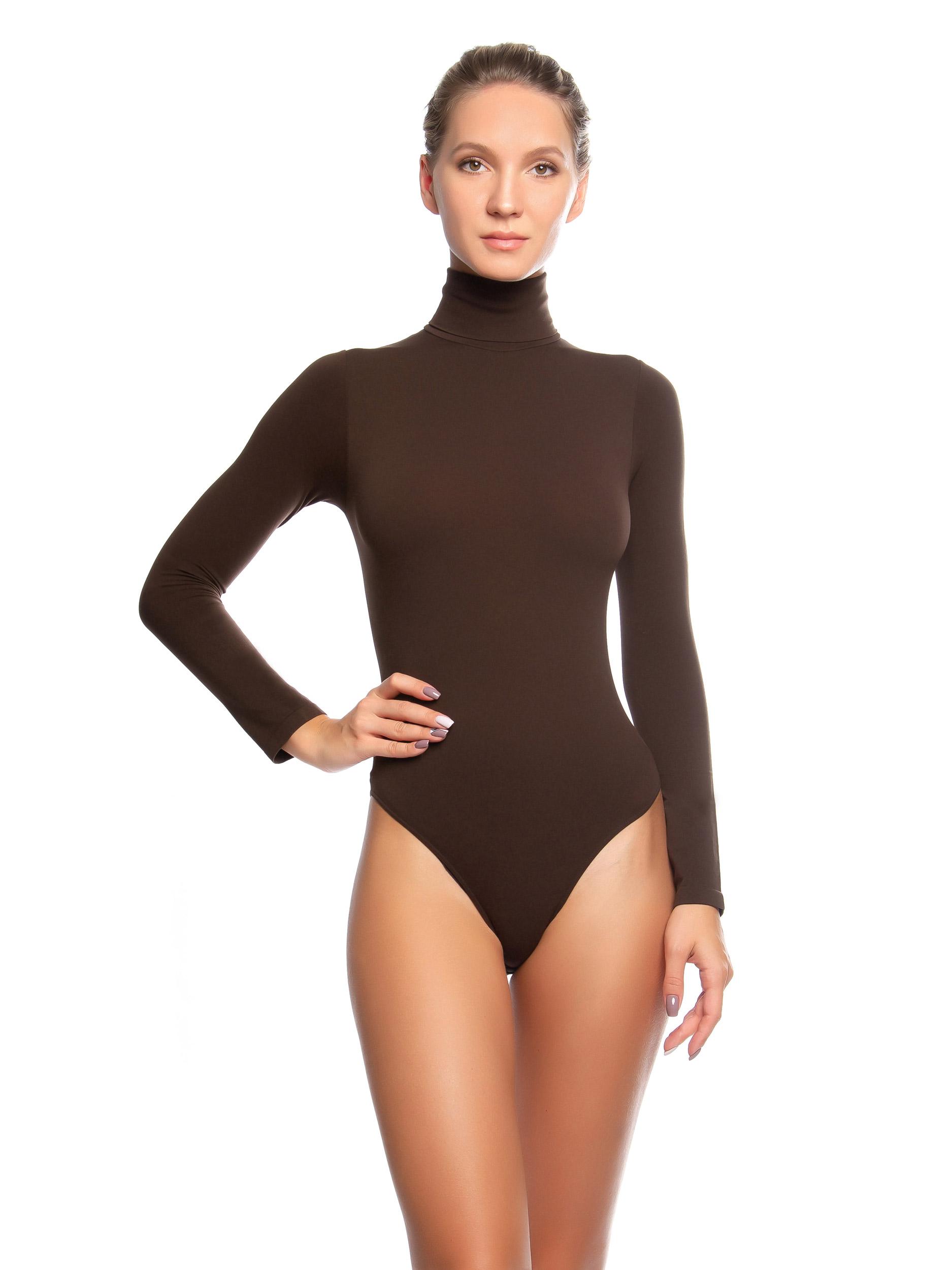 Боди женское Mademoiselle Body Dolcevita ML (Ilar) коричневое L/XL