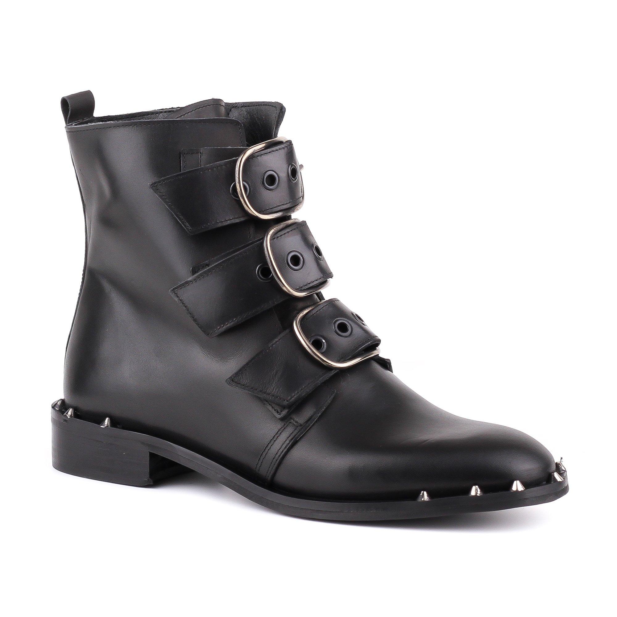 Ботинки женские Alessandro RAS10 черные 37 RU.