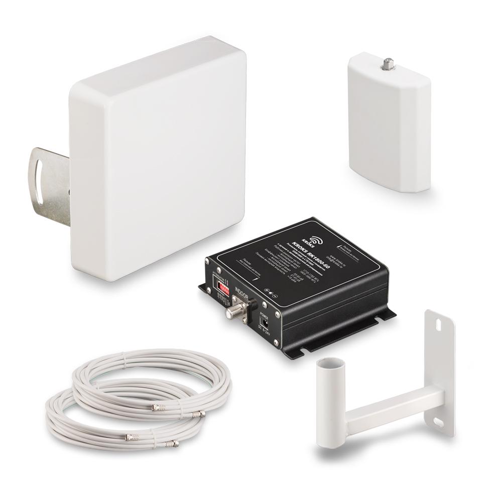 Комплект Kroks KRD 1800 для усиления сигнала