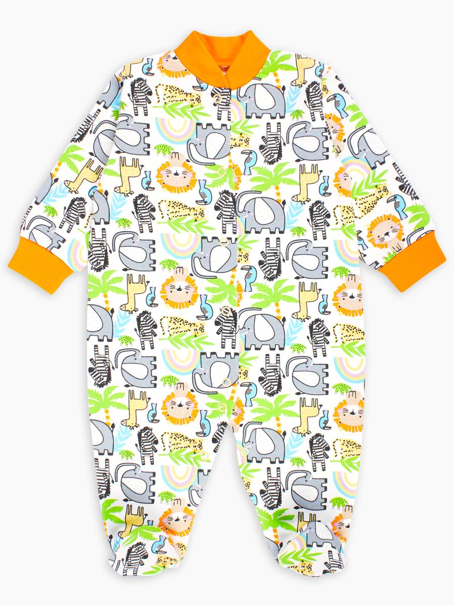 Купить Комбинезон детский Веселый малыш Sweety 51142/sw/Сафари р.68,